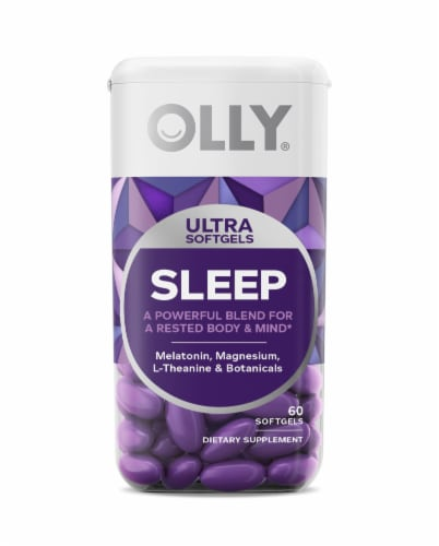 Olly Sleep Ultra Softgels Perspective: front