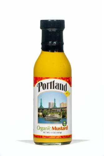 Portland Organic Gluten Free Mustard Perspective: front