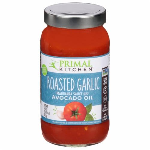 Primal Kitchen Roasted Garlic Marinara Sauce Perspective: front