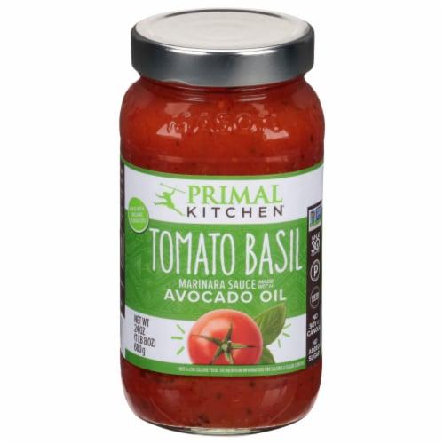 Primal Kitchen Tomato Basil Marinara Sauce Perspective: front