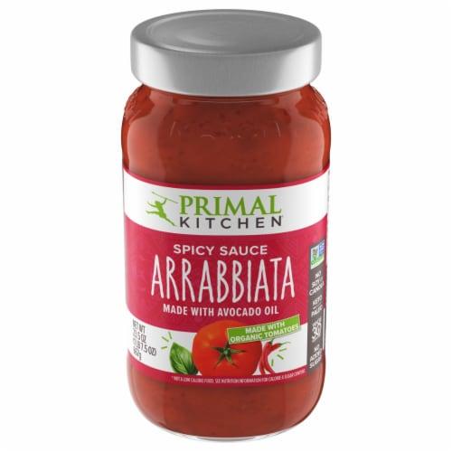 Primal Kitchen Arrabbiata Marinara Sauce Perspective: front
