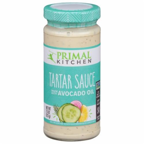 Primal Kitchen Avocado Oil Tartar Sauce Perspective: front