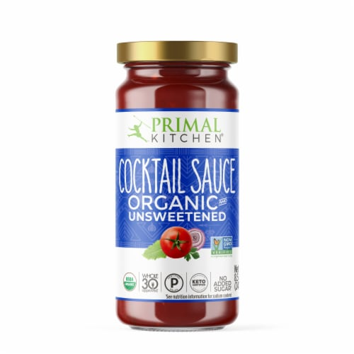 Primal Kitchen Organic Unsweetened Cocktail Sauce Perspective: front