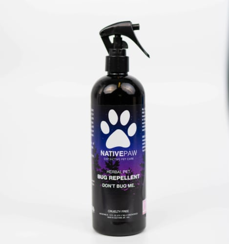 Native Paw All Natural + Vegan Anti-Bug Shake & Spray, DEET-Free Bug Spray, Eco-Friendly, Ins Perspective: front