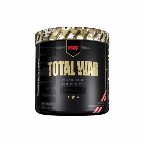 Redcon1  Total War Preworkout   Watermelon Perspective: front