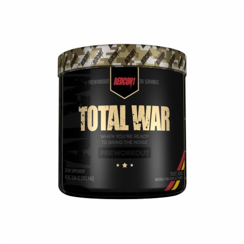 Redcon1  Total War Preworkout   Tiger's Blood Perspective: front