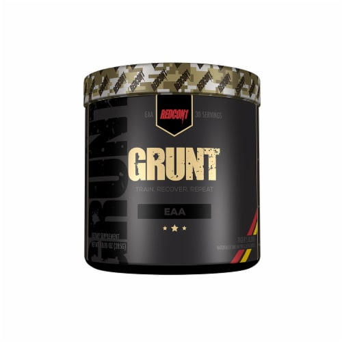 Redcon1 Grunt Tiger's Blood Dietary Supplement Perspective: front