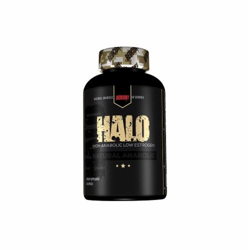 Redcon1  Halo Natural Muscle Builder Perspective: front
