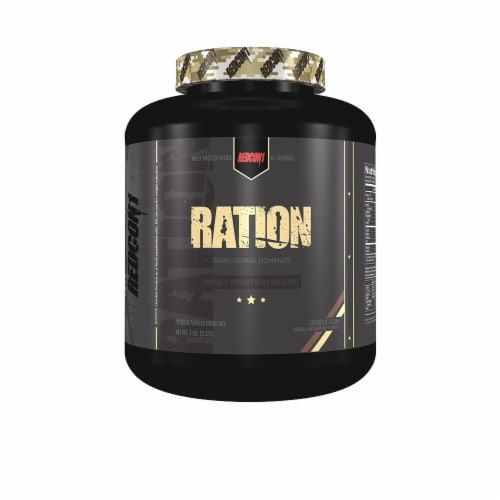 Redcon1  Ration Whey Protein Blend   Cookies N' Cream Perspective: front