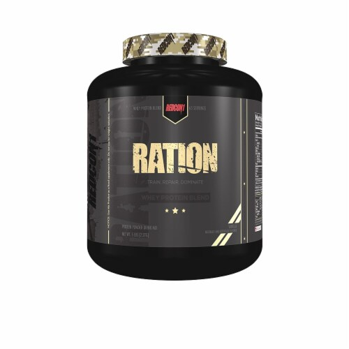 Redcon1  Ration Whey Protein Blend   Vanilla Perspective: front