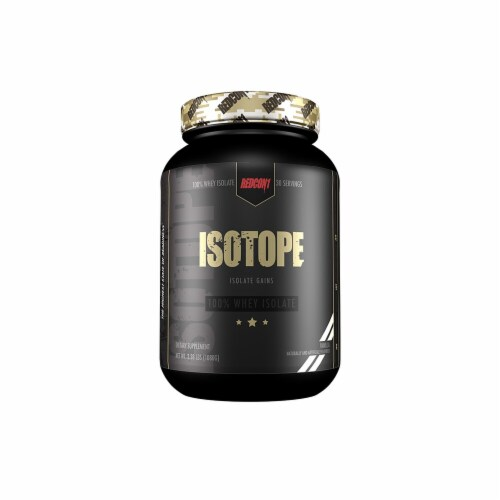 Redcon1  ISOTOPE 100% Whey Isolate   Vanilla Perspective: front