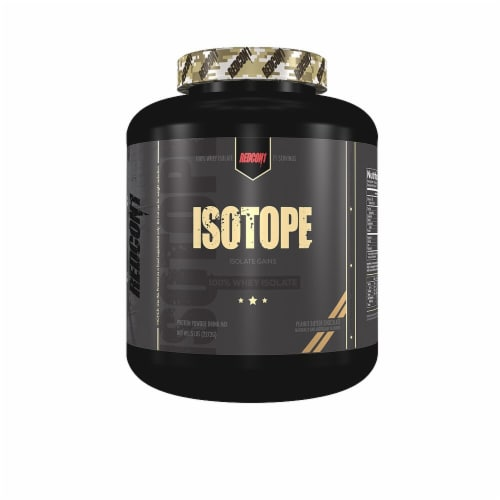 Redcon1  ISOTOPE 100% Whey Isolate   Chocolate Perspective: front