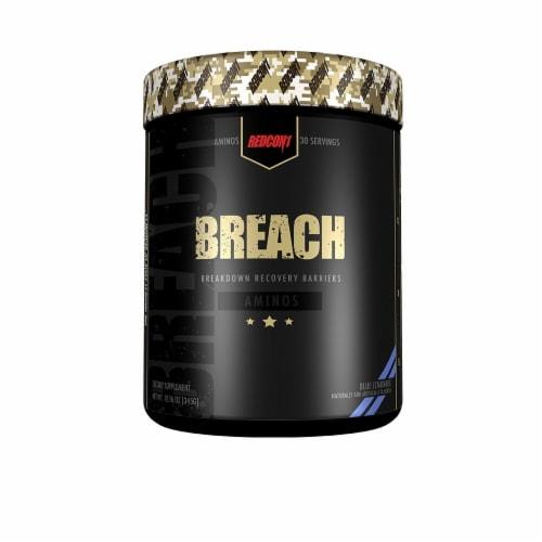 Redcon1  Breach Aminos   Blue Lemonade Perspective: front