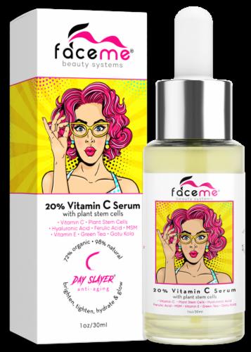 Faceme 20% Vitamin C Serum Perspective: front