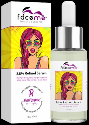 Faceme 2.5% Retinol Anti-Aging Serum Perspective: front