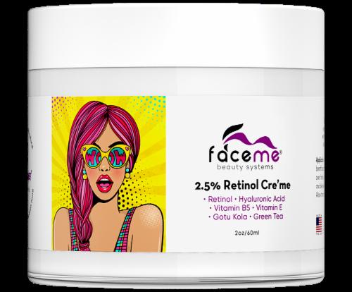 Faceme 2.5% Retinol Moisturizer Cream Perspective: front