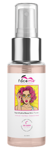 Faceme Rose Water Facial Toner Perspective: front