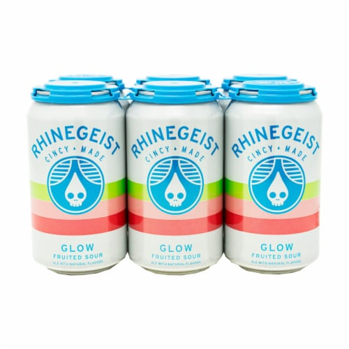 Rhinegeist Glow Fruited Sour Perspective: front