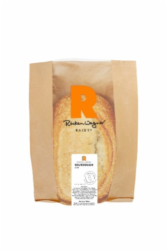 Rockenwagner Bakery Sourdough Loaf Bread Perspective: front
