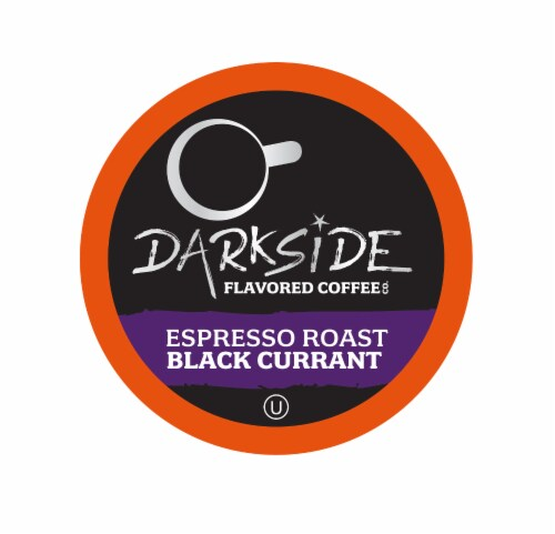 Darkside Flavored Coffee, Black Current for Keurig K Cup Brewers, 40 Count Perspective: front