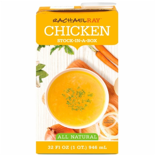 Rachael Ray All Natural Chicken Stock-in-a-Box Perspective: front
