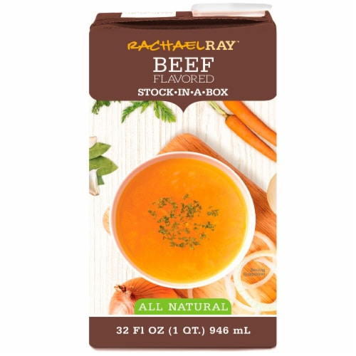 Rachael Ray All Natural Beef Stock-in-a-Box Perspective: front