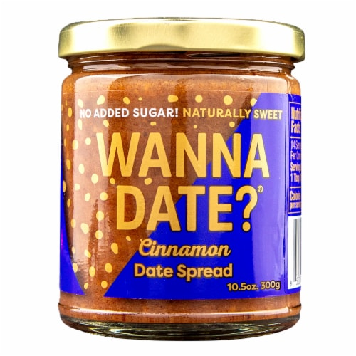 Wanna Date? Cinnamon Date Spread Perspective: front