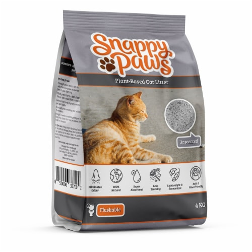 Snappy Paws Plant Based Cat Litter (Natural Scent) 8.8 lbs Perspective: front