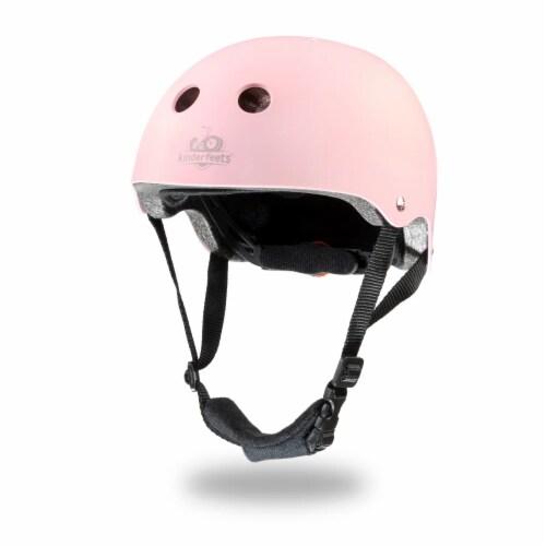 Kinderfeets Adjustable Toddler & Kids Sport Bike Helmet, CPSC Certified, Rose Perspective: front