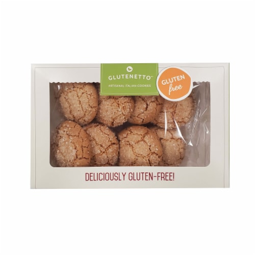 Boxed Gluten Free Amaretti - Pack of 3 Perspective: front