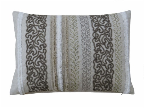 Chicos Home Artesia Throw Pillow Cover Perspective: front