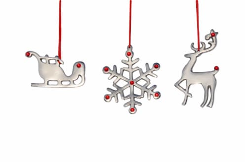 Vibhsa Christmas Ornaments Set Perspective: front