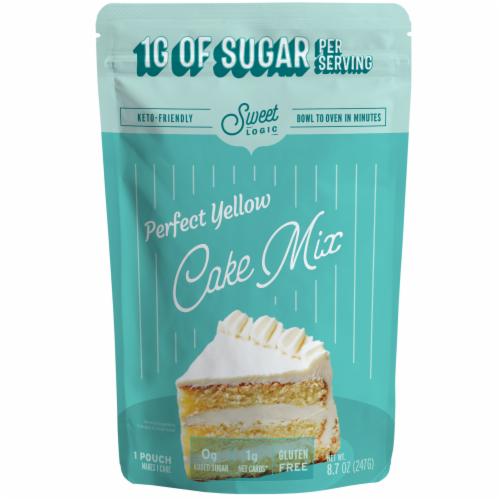 Sweet Logic Keto Yellow Cake Baking Mix Perspective: front