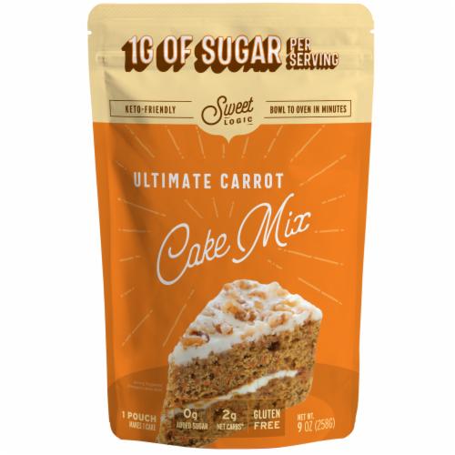 Sweet Logic Keto Carrot Cake Baking Mix Perspective: front