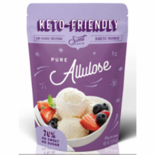 Sweet Logic Buy Bulk Allulose - Low Calorie Sugar with Zero GI Perspective: front