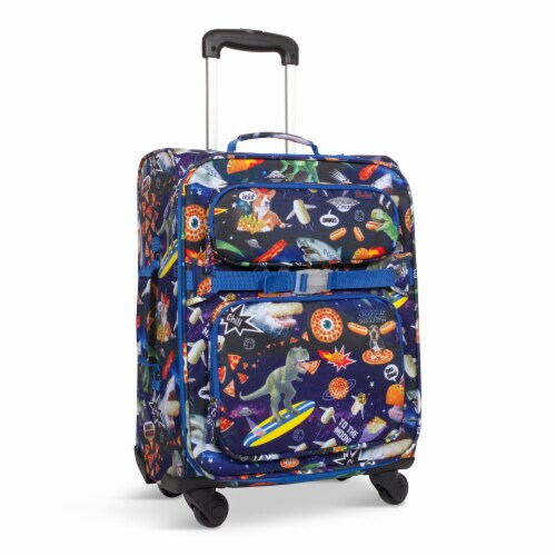 Bixbee Meme Space Odyssey Young Traveler Luggage Perspective: front