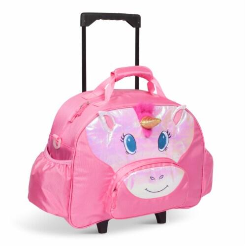 Bixbee Animal Pack Unicorn Little Traveler Luggage Perspective: front