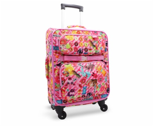 Bixbee Funtastical Young Traveler Luggage Perspective: front