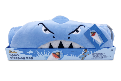 Bixbee Shark Sleeping Bag Perspective: front