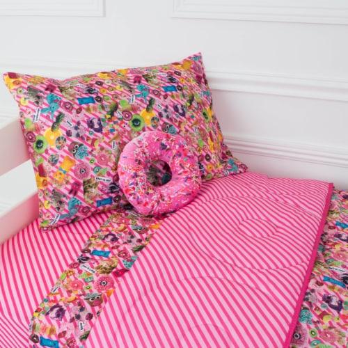 Bixbee Funtastical 5 Piece Bedding Set - Pink Perspective: front
