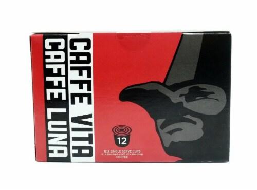 Caffe Vita Caffe Luna Single Serve Coffee Cups Perspective: front
