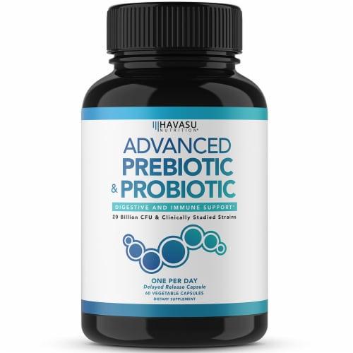 Havasu Prebiotic/Probiotic Supplement Perspective: front