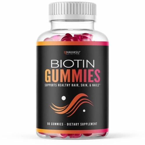 Havasu High Potency Biotin Gummies Perspective: front