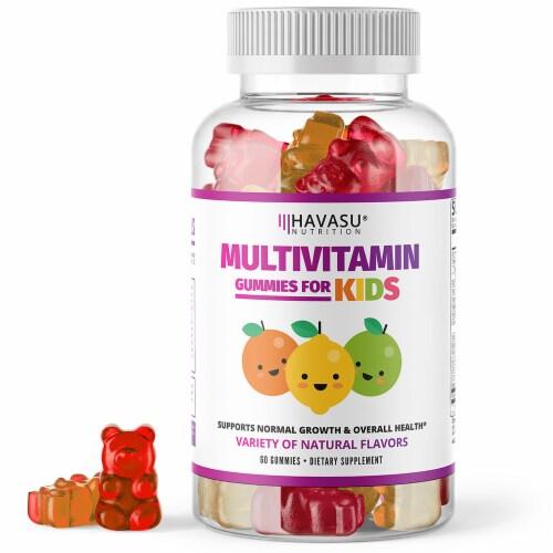 Havasu Multivitamin Gummies for Kids Perspective: front