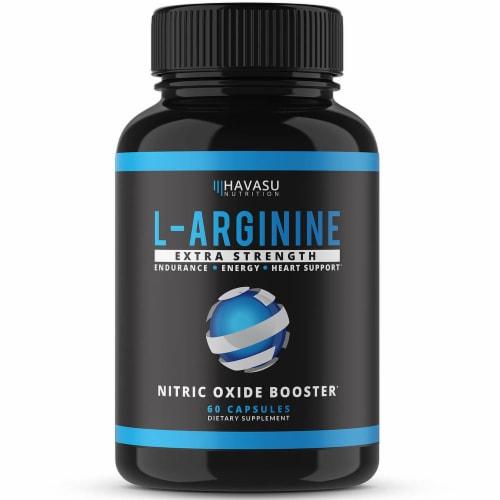 Havasu Extra Strength L-Arginine Supplement Perspective: front