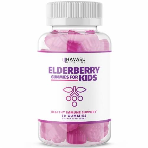 Havasu Nutrition Elderberry Gummies for Kids Perspective: front