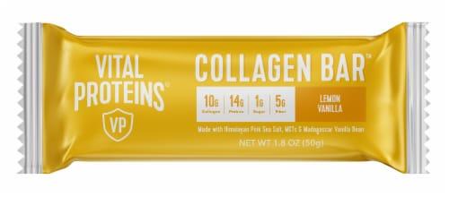 Vital Proteins Lemon Vanilla Collagen Bar Perspective: front