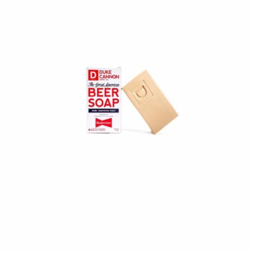 Duke Cannon 10 Oz. Great American Budweiser Cedarwood Bar Soap 04BUDWEISER1 Perspective: front