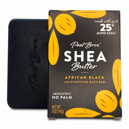 Peet Bros. African Shea Butter Bar Soap Perspective: front