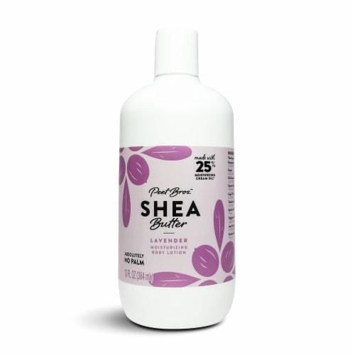 Peet Bros Lavender Shea Butter Body Lotion Perspective: front